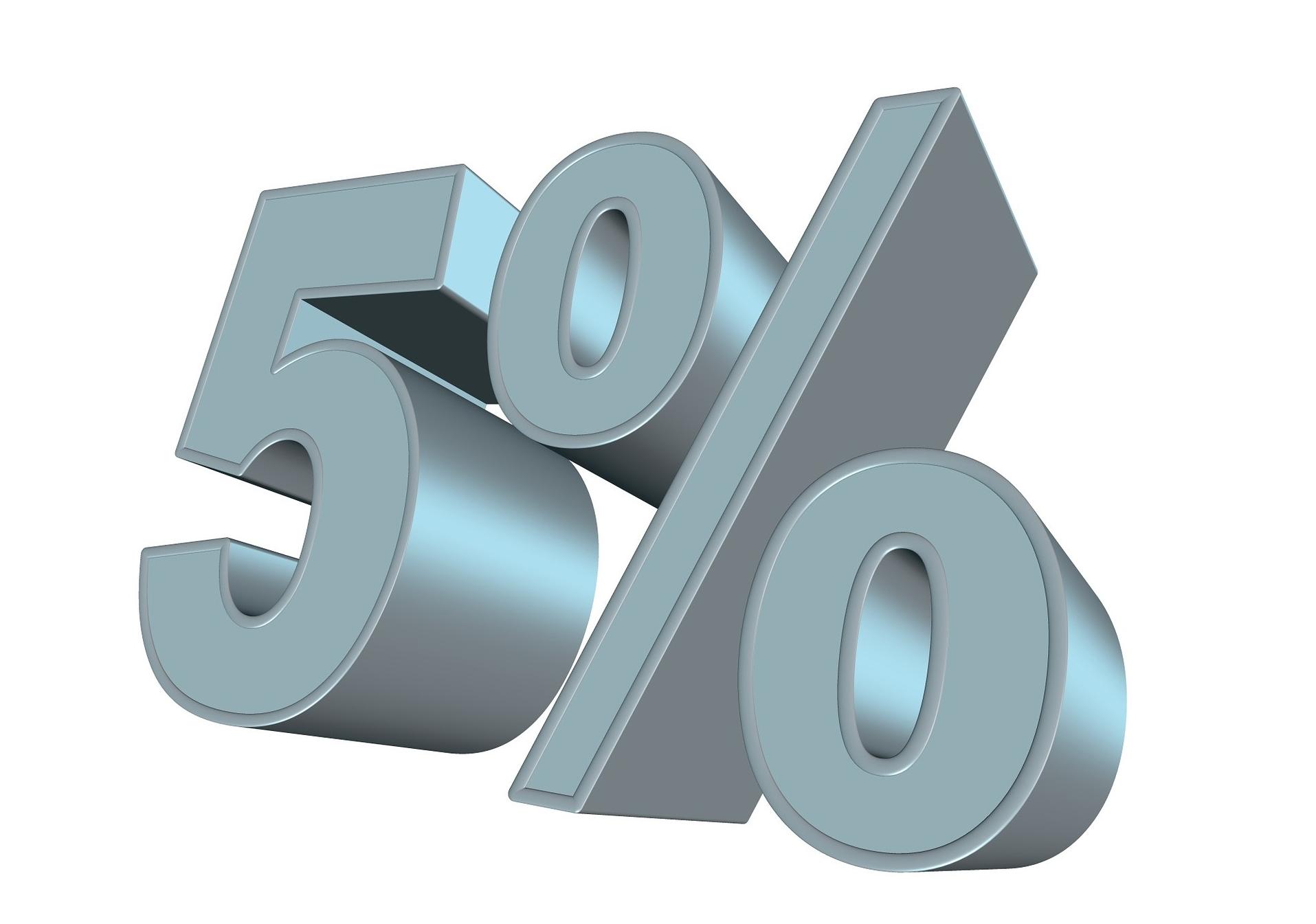 five-percent-surcharge