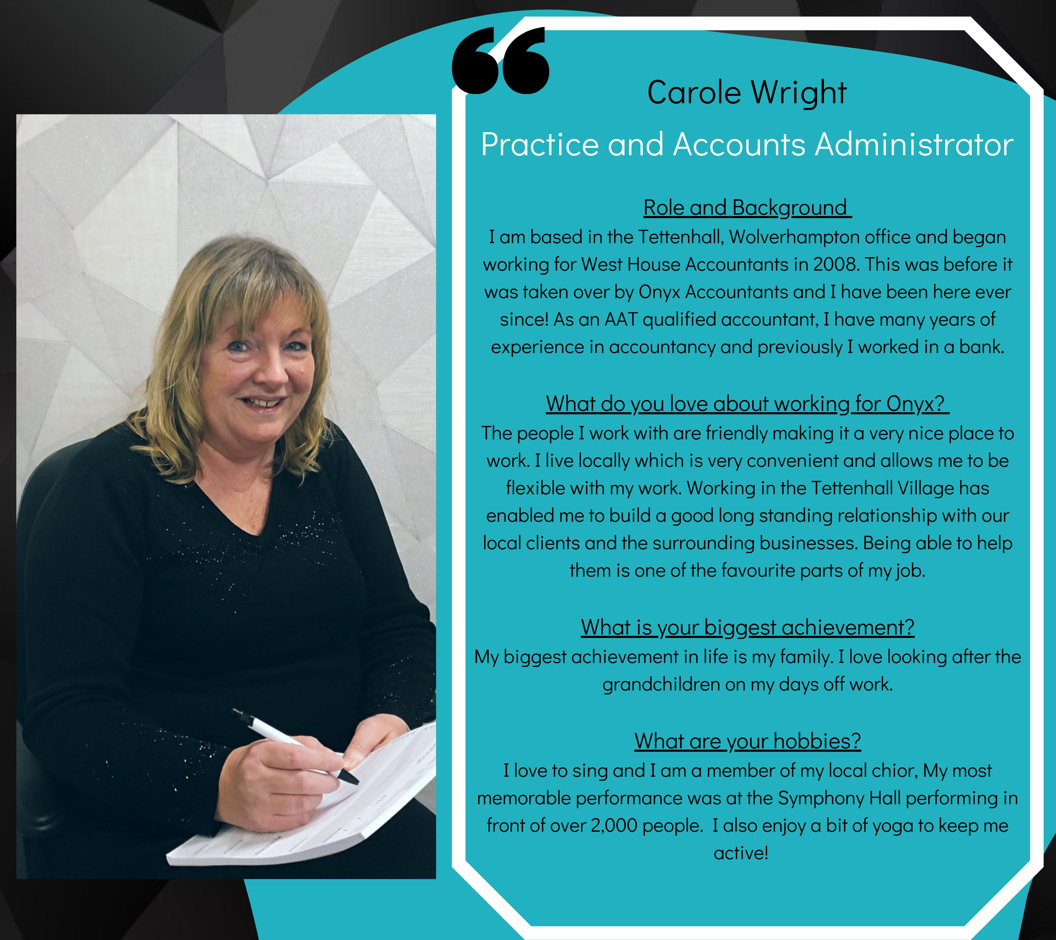 Carole Wright