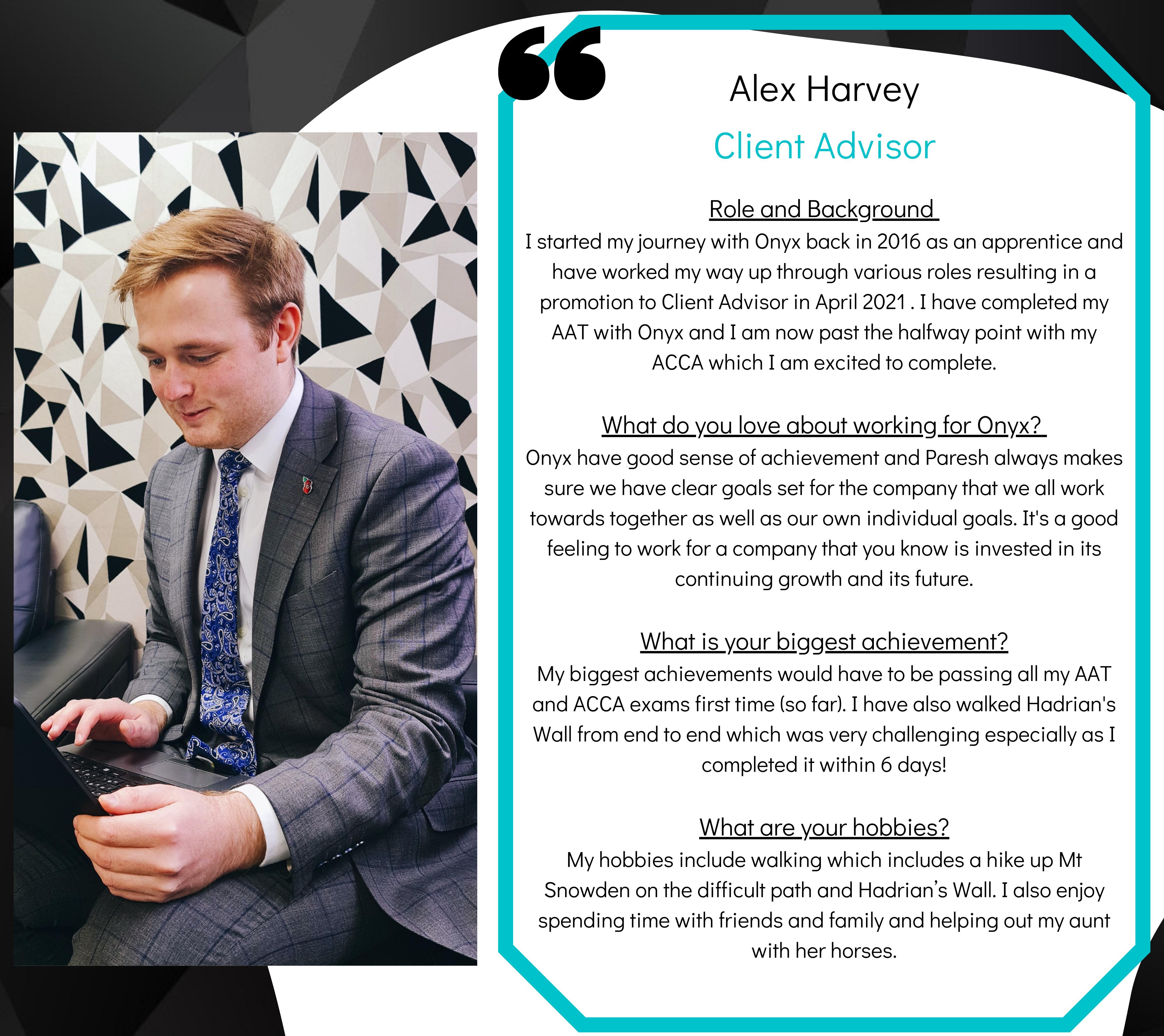 Alex Harvey - Bio